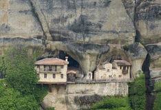 Ipapantis monastery in Meteora Royalty Free Stock Photo