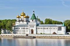 Ipatiev修道院, Kostroma,俄罗斯 免版税库存照片