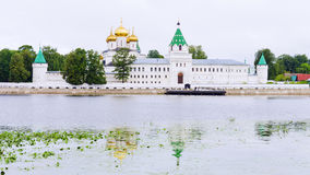 Ipatiev Monastery in Kostroma. gold ring of Russia Royalty Free Stock Image