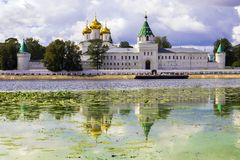 Ipatiev Monastery in Kostroma, Russia Royalty Free Stock Photography