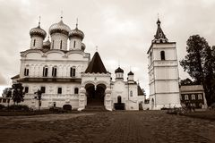 Ipatiev Monastery in Kostroma. Russia Royalty Free Stock Photo