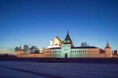 Ipatievsky męski monaster na Kostroma rzece w starym rosyjskim mieście Fotografia Royalty Free