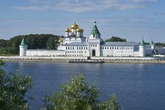 Ipatievsky monaster w Kostroma Rosja fotografia stock