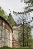 Ipatievsky monastery in Kostroma, Russia. Fortifications in Ipatievsky monastery in Kostroma, Russia Stock Photography