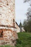 Ipatievsky monastery in Kostroma, Russia. Fortifications in Ipatievsky monastery in Kostroma, Russia Royalty Free Stock Photography