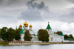 Ipatievsky monastery, Kostroma, Russia. View to the Ipatievsky monastery from Volga river, Kostroma, Russia Stock Photography