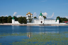Ipatievsky monastery in Russia, Kostroma Royalty Free Stock Photography