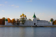 Ipatievsky monastery, in Russia, Kostroma  Royalty Free Stock Photos