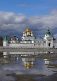 Ipatievsky monastery, spring landscape Royalty Free Stock Photos