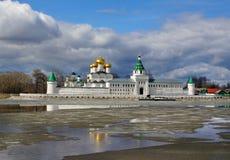 Ipatievsky monastery, spring landscape Stock Image