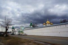 Ipatievsky monastery, spring landscape Stock Photography