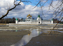 Ipatievsky monastery, spring landscape Stock Photos