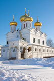 Ipatievsky monastery, Trinity cathedral of Godunov Stock Image