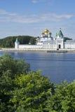 Ipatievskyklooster in Kostroma Rusland Stock Foto