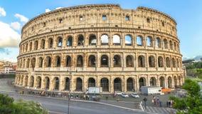 Iper intervallo di Colosseum stock footage