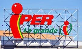 IPER - la grande I Stock Photography