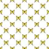 Iphiclides podalirius butterfly pattern seamless Stock Photo