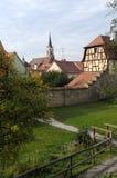 Iphofen Duitsland Royalty-vrije Stock Fotografie