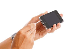 iphone修理您 免版税库存图片