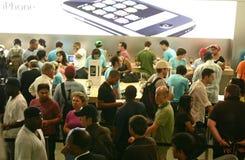 iphone μήλων Στοκ εικόνα με δικαίωμα ελεύθερης χρήσης