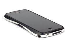 Iphone στο άσπρο υπόβαθρο Στοκ Φωτογραφίες