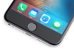 Iphone 6 συν Στοκ εικόνα με δικαίωμα ελεύθερης χρήσης
