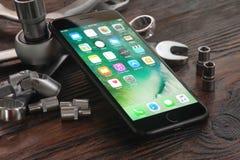 IPhone 7 συν Στοκ εικόνες με δικαίωμα ελεύθερης χρήσης