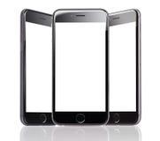 IPhone 6 της Apple με τις κενές οθόνες Στοκ φωτογραφίες με δικαίωμα ελεύθερης χρήσης