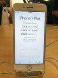IPhone 7 της Apple συν Στοκ Φωτογραφίες