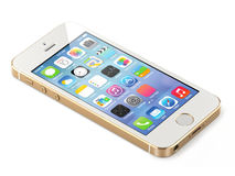 Iphone της Apple 5s Στοκ εικόνες με δικαίωμα ελεύθερης χρήσης