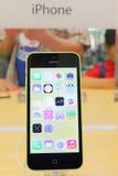 IPhone της Apple 5c Στοκ φωτογραφία με δικαίωμα ελεύθερης χρήσης