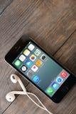 Iphone της Apple 5s Στοκ εικόνα με δικαίωμα ελεύθερης χρήσης