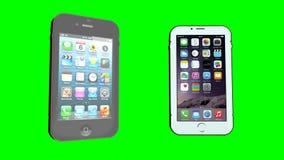 IPhone - зеленый экран видеоматериал