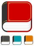 iphone иконы книги иллюстрация вектора