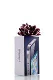 iphone подарка 4 яблок Стоковые Изображения