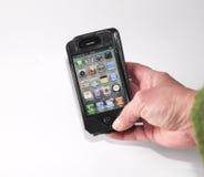 iphone руки Стоковые Фотографии RF