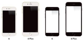 IPhone 6 Яблока добавочное Стоковое Изображение RF