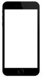 IPhone 6 Яблока иллюстрация вектора