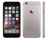 Iphone 6传染媒介 图库摄影