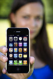 iphone 4 яблок Стоковое фото RF
