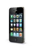 iphone 4 яблок Стоковая Фотография