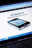 IPhone 4 Immagine Stock