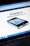 IPhone 4 stock image