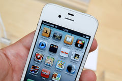 Iphone 4 Stock Images