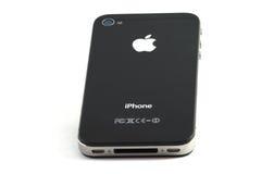 черное iphone 4 Стоковое фото RF