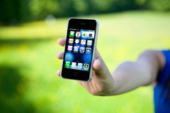 iPhone 4 de Apple Imagens de Stock