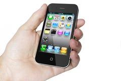 iPhone 4 del Apple Fotografie Stock Libere da Diritti