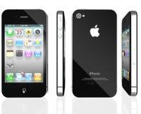iPhone 4 van de appel Stock Afbeelding