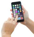 Iphone Royalty-vrije Stock Afbeeldingen
