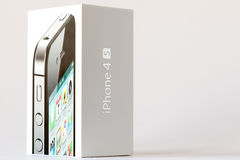 IPhone 4S Box Royalty Free Stock Images